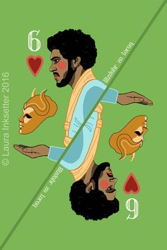 Game of Thrones Playing Cards - 6 of Hearts (Hizdhar zo Loraq) Game Of Thrones Quotes, Game Of Thrones Funny, Game Of Thrones Art, Eddard Stark, Game Of Throne Actors, Joker Card, I Love Games, Playing Card Games, Got Memes