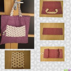 With a beautiful and … - Womens Bags Sewing Tutorials, Sewing Crafts, Sewing Projects, Diy Sac, Bags 2017, Diy Purse, Couture Sewing, Bag Patterns To Sew, Fabric