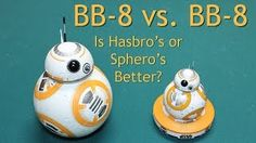 Comparison Review of Both Star Wars BB8 BB-8 Droids, Sphero BB-8 BB8 and Hasbro Target BB-8 BB8