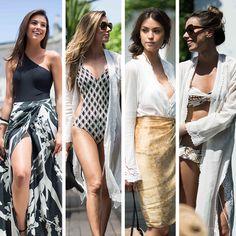 Street Style: todos os looks de praia da semana