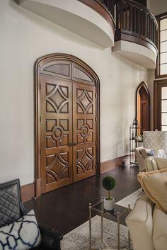 English Tudor | Portfolio | Sims Luxury Builders English Tudor, Tudor House, Tudor Style, Custom Homes, Luxury Homes, Sims, Mirror, Furniture, Design