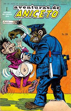 Comics Mexicanos de Jediskater: Aventuras de Aniceto No. 286, El Hombre Chango, Vi...