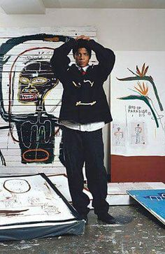 I don't think about art when I'm working. I try to think about life. ~Jean-Michel Basquiat quote