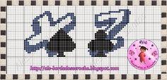 Alê - Bordados e Crochê: Monograma Baralho