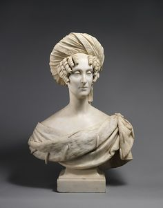 Marie-Amélie, Queen of the French Baron François Joseph Bosio (French, 1768–1845) Date: 1841 Culture: French, Paris Medium: Marble