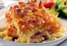 Potato Bacon Casserole only 5 ingredients