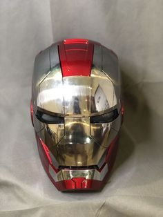 Our wearable mk5 helmet not only recovers its appearance from the movie Iron Man 2 but also brings its advanced electric functions into real life.