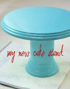 Haniela's: ~DIY Cake Stand~