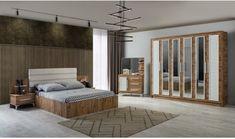 Ada Yatak Odası Takımı Showroom, Divider, Bed, Furniture, Home Decor, Decoration Home, Stream Bed, Room Decor, Home Furnishings