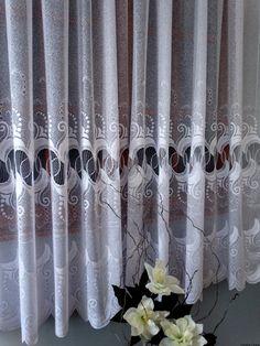 Gotowa Firana żakardowa 160x300cm Curtains, Home Decor, Drawing Rooms, Insulated Curtains, Homemade Home Decor, Blinds, Draping, Decoration Home, Drapes Curtains