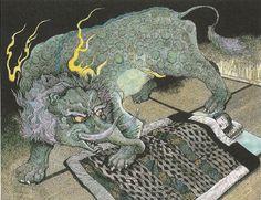 About Baku, the dream eater (by Zack Davisson, from Mizuki Shigeru's Magical Animal Stories)
