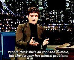 Josh on Jennifer Lawrence