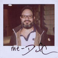 Tobias Funke. (I'm so obsessed with this site now lol) {Portroids: Daily Polaroid Portrait}