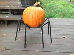 Turn your pumpkin into a spider pumpkin with one of these pumpkin stands!