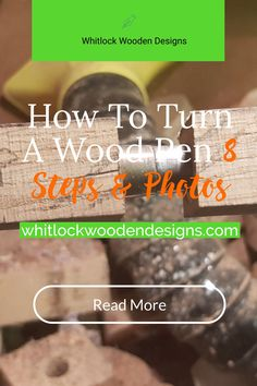 Want to know how to turn a wood pen❓ What equipment is needed to start and where to get it from❓ #woodenpens #woodpen #penmaking Big Pen, Pen Blanks, Pen Turning, Rollerball Pen, Woodturning, Read More, Drill, How To Get, Design