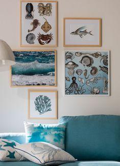 Gallery Wall, Inspiration, Beach, Frame, Home Decor, Living Room, Ad Home, Deco, Biblical Inspiration
