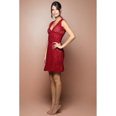 US$ 3,240.00 - Strawberry Venice Crochet Dress - Vanessa Montoro - vanessamontorolojausa