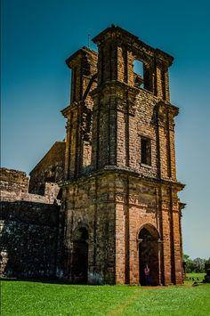 Archaeological Site of St. Michael the Archangel- São Miguel das Missões, Rio Grande do Sul - Brasil.