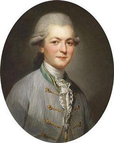 Portrait de Charles Joseph de Pallu, par Joseph Ducreux