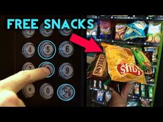 (348) TOP 5 Vending Machine Hacks - Get FREE Food and Soda From ANY Vending Machine! How To Get FREE Stuff - YouTube