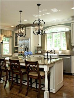 Modern Kitchen 57 Amazing French Country Kitchen Design and Decor Ideas French Country Rug, French Country Dining Room, French Country Kitchens, French Country Decorating, Country Style, Rustic French, Tuscan Kitchens, French Farmhouse, Rustic Style