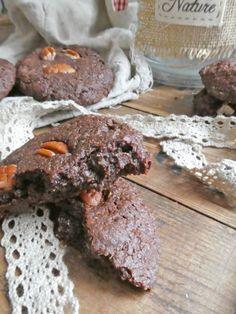 Cookies moelleux énergétiques au chocolat, noisettes et quinoa  ( Sans céréales )   KiwiForme