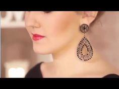 Makeup Look Inspired By Jenifer Lawrence in American Hustle 2016