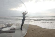 Pierre Stephane Dumas – Diseño unas carpas transparentes para ser parte del ambiente | Rincón Abstracto