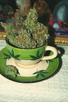 Now that's my cup o' tea! #marijuana