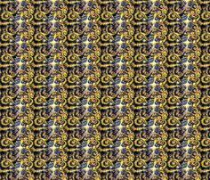 Doctor Who, Exploding Tardis fabric by shadowatcher89 on Spoonflower - custom fabric
