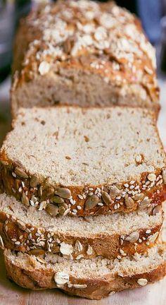 Multi-Grain Flaxseed Bread   Recipe   BREAD   Flaxseed