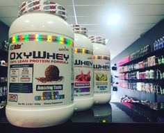 The delicious #Oxywhey now comes in 5 flavours! Swiss Chocolate. Vanilla Ice Cream. Strawberry Milkshake. Mocha. Banana Bliss. Pick yours up online  or in-store at HQ or Geelong! #ehplabs #spartansuppz  #bodybuilding #powerlifting #fitness #igfit #shred #gym #weights #instafit #insta #gymlife #iifym #diet #fitfreaks #swole #motivation #entrepreneur #inspiration #doyoueven #dye # #girlswhosquat #gymgirls #girlswholift #peach #shredders #zyzz #booty