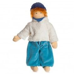 Julian - Organic Waldorf Boy Doll. Made in Germany. From Bella Luna Toys.