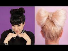 Women Try Pinterest Hair Tutorials - YouTube