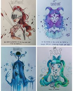 My first zodiac collection, all the 12 signs in Tim Burton style ♡ Which one is your favorite? Tim Burton Drawings Style, Tim Burton Art Style, Pencil Art Drawings, Cool Art Drawings, Desenhos Tim Burton, Aquarius Constellation Tattoo, Drawing Face Expressions, Tim Burton Beetlejuice, Dragon Figurines