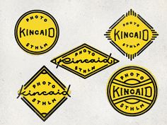Black and yellow, black and yellow, black and yellow Typography Logo, Logo Branding, Branding Design, Logo Design, Lettering, Design Design, Photographer Logo, Logo Shapes, Geometric Logo