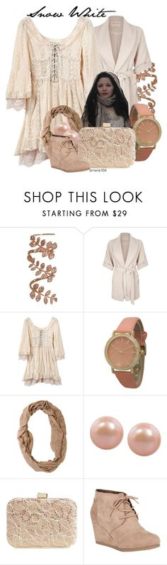"""""""Snow White"""" by amarie104 ❤ liked on Polyvore featuring Plukka, River Island, Olivia Pratt, Once Upon a Time, Swell, Honora, Jessica McClintock and City Classified"""