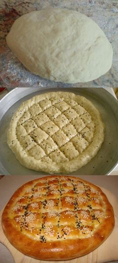Homemade Pita Bread (like Ramazan pidesi)