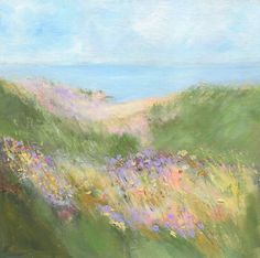 Aesthetic Painting, Aesthetic Art, Paintings I Love, Beautiful Paintings, Impressionist Paintings, Landscape Paintings, Painting Inspiration, Art Inspo, Painting & Drawing