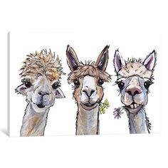 Canvas Artwork, Canvas Prints, Art Prints, Alpaca Drawing, Alpacas, Mellow Yellow, Animal Paintings, Art Paintings, Online Art Gallery