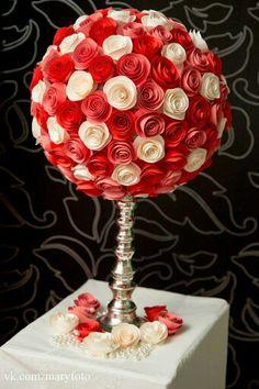 paper flower, фотозона, большие бумажные цветы, бумажный декор