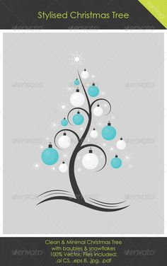 Realistic Graphic DOWNLOAD (.ai, .psd) :: http://sourcecodes.pro/pinterest-itmid-1000750194i.html ... Stylised Christmas Tree ...  bauble, black, blue, christmas, christmas tree, design, graphic, grey, illustration, object, ornament, snowflake, stylised, vector, white  ... Realistic Photo Graphic Print Obejct Business Web Elements Illustration Design Templates ... DOWNLOAD :: http://sourcecodes.pro/pinterest-itmid-1000750194i.html