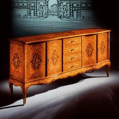 Antique Interior, Blazer Outfits, Marquetry, Cabinet Makers, Sideboard, Interior Design, Antiques, Wood, Classic