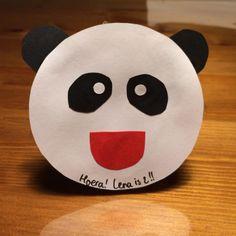 Zelfgemaakte panda traktatie!