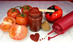 Quick & Easy Paleo Ketchup - Sabrina's Sinless Secrets Paleo Ketchup, Vegetarian Paleo, Honey Mustard, Hot Sauce Bottles, Sugar Free, Food Processor Recipes, Clean Eating, Tasty, Cooking