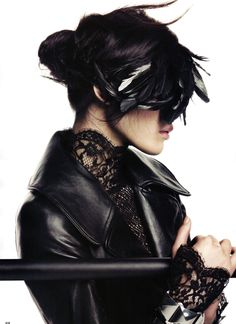 Ming-Xi by Lachlan-Bailey for Vogue China 2010  black