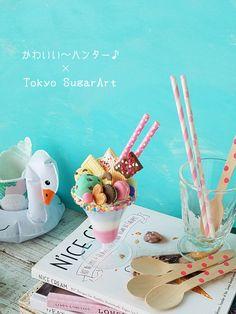 東京シュガーアート【シュガークラフト♡ケーキデコレーション@恵比寿】-12ページ目 Nice Cream, Sugar Art, Tokyo, Treats, Cake, Desserts, Food, Sweet Like Candy, Tailgate Desserts