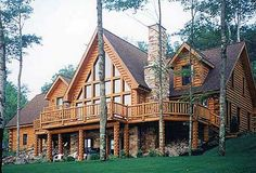 Log Cabin Home.