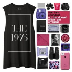 """MY FAV BAND"" by emmas-fashion-diary ❤ liked on Polyvore featuring Ex Voto Paris, LINUM, philosophy, The Body Shop, 3.1 Phillip Lim, Case-Mate, Me! Bath and Michael Kors"