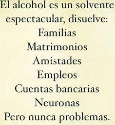 Alcohol @BuenosVecinosSC